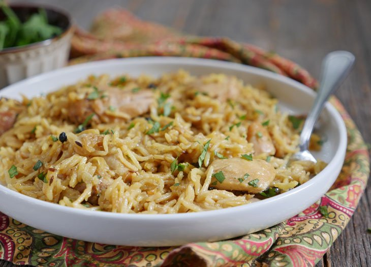 instant pot chicken pulao