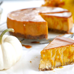 instant pot pumpkin cheesecake by ashley of myheartbeets