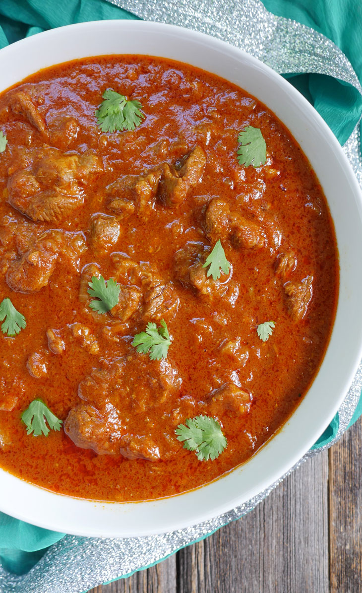 instant pot lamb rogan josh
