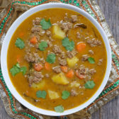 instant pot kerala ground meat coconut curry