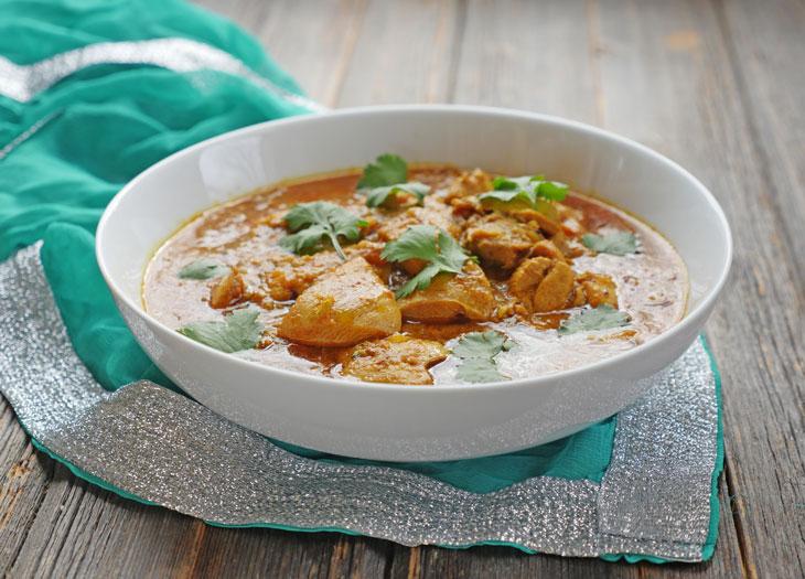 instant pot achari chicken curry (chicken in pickling spices)