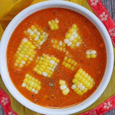 Instant Pot Indian Corn Soup