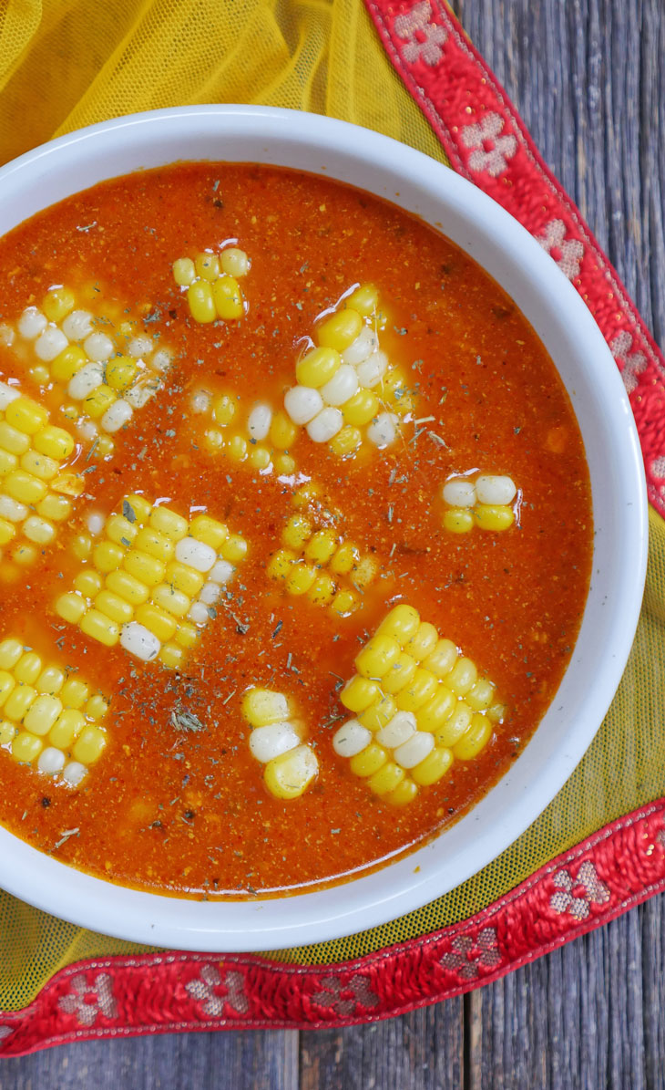 Instant Pot Indian Corn Soup