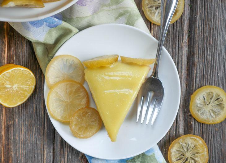 Instant Pot Paleo Lemon Cake (Gluten Free)
