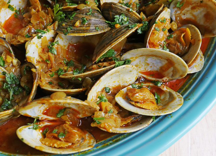 goan clam curry