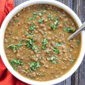 instant pot green moong dal