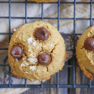 paleo pumpkin spice cookie