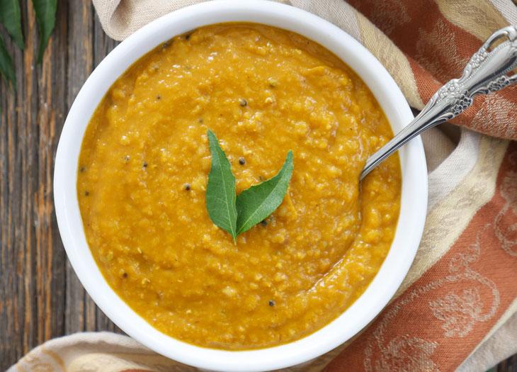 instant pot pumpkin dal