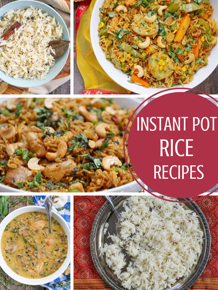 instant pot rice recipes