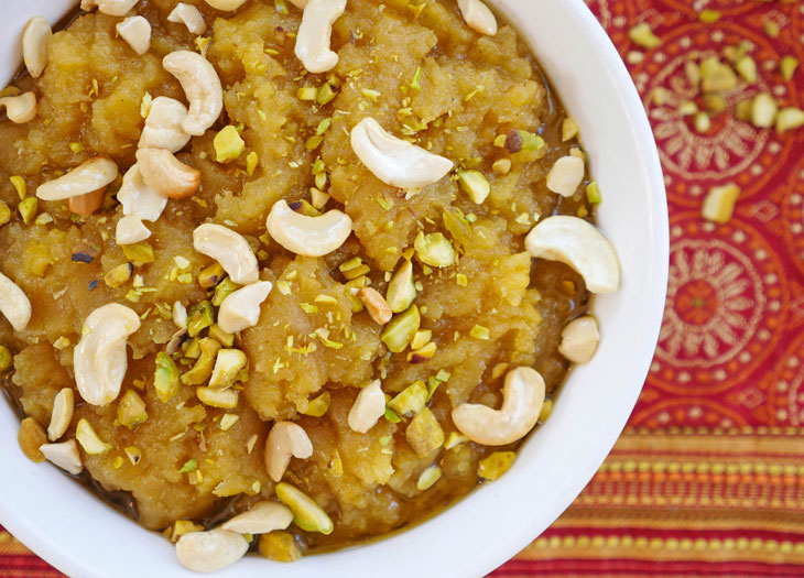 instant pot moong dal halwa
