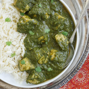 instant pot chicken saag