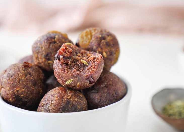 instant pot healthy ladoo pinni