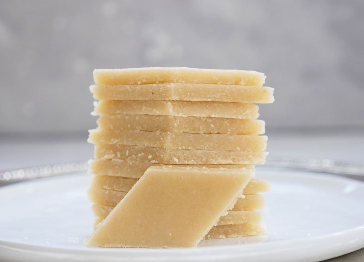 Instant Pot Kaju Katli or Badam Katli (Cashew Fudge or Almond Fudge)