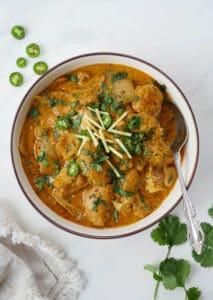 instant pot chicken patiala