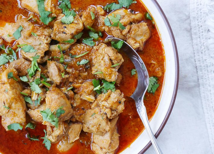 instant pot chicken vindaloo