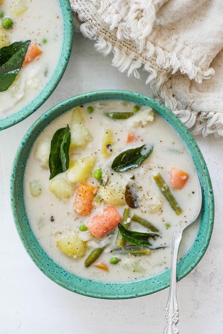 instant pot kerala vegetable stew