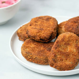Kerala Ground Meat Cutlets
