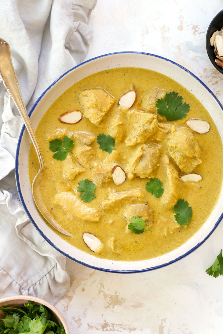murgh badami (almond chicken curry)
