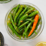 green chilli pickle (mirch