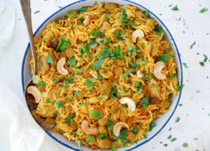 instant pot pour and cook chicken biryani