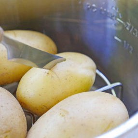 instant pot boiled potatoes
