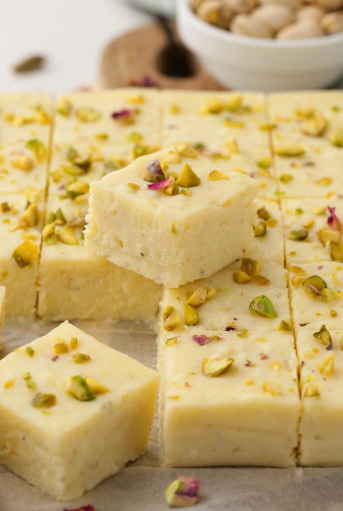 Instant Pot Kalakand (Indian Milk Cake)