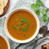 instant pot sweet potato pie dal soup