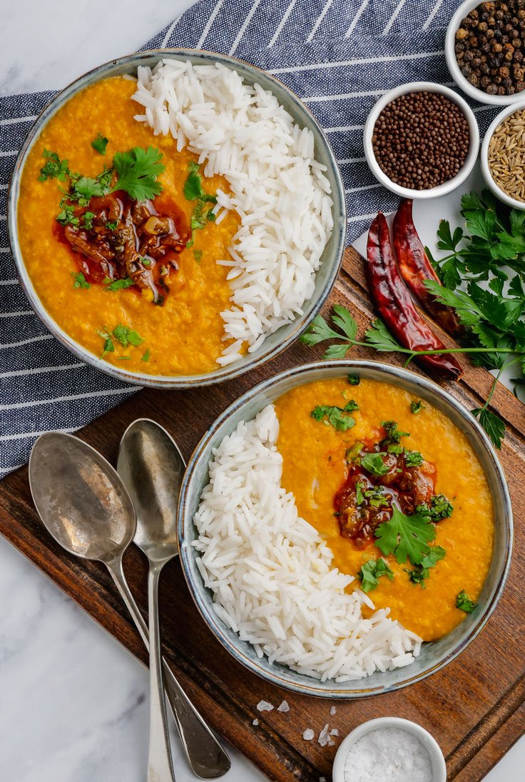 instant pot dal tadka