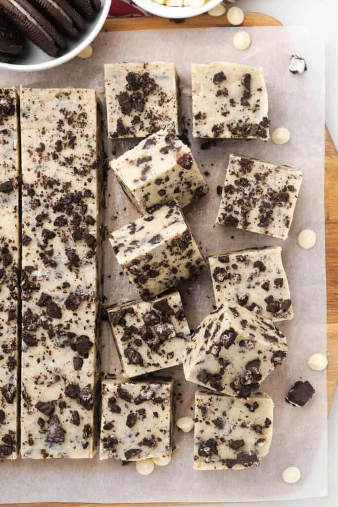 instant pot cookies and cream fudge