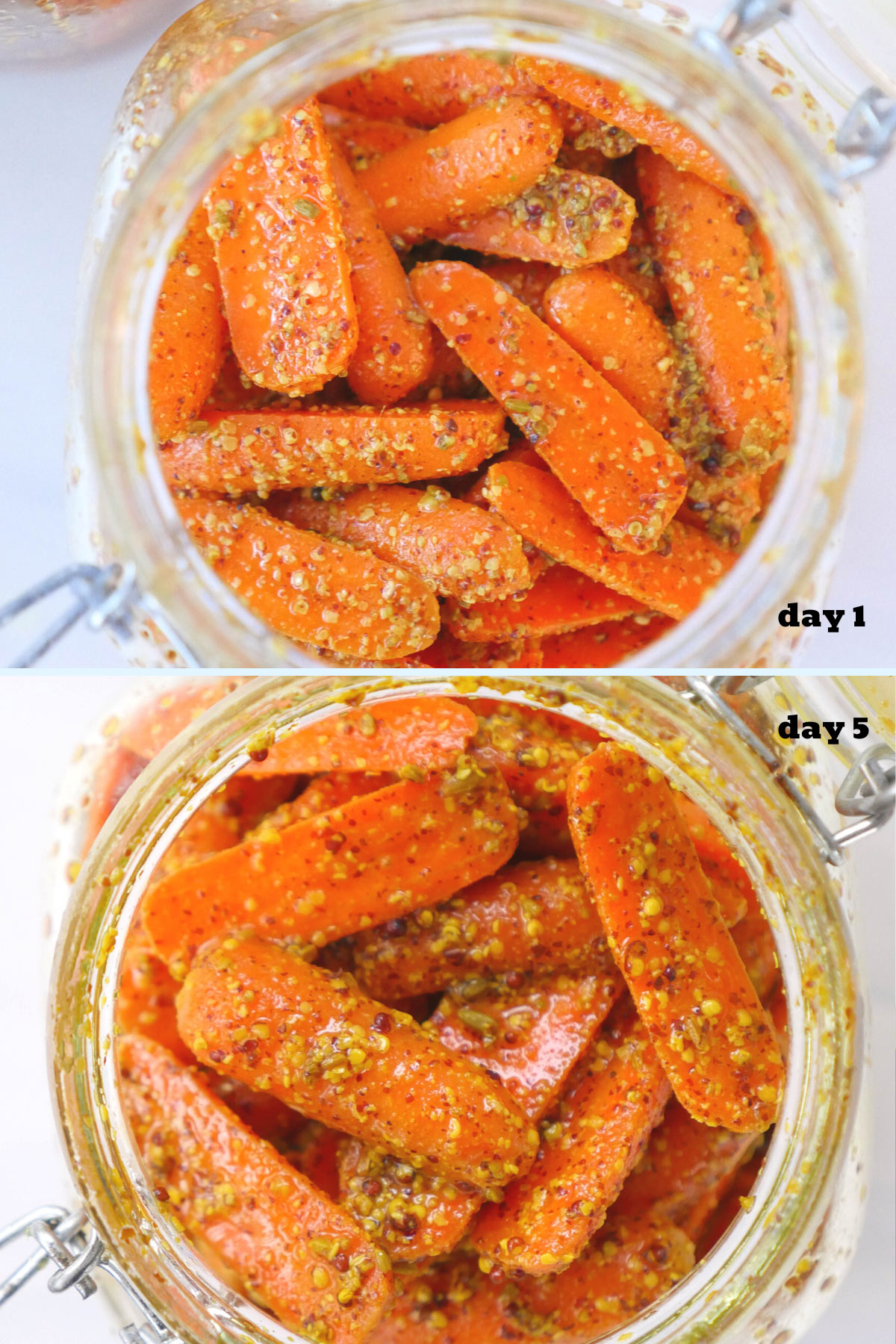 gajar achar, carrot pickle