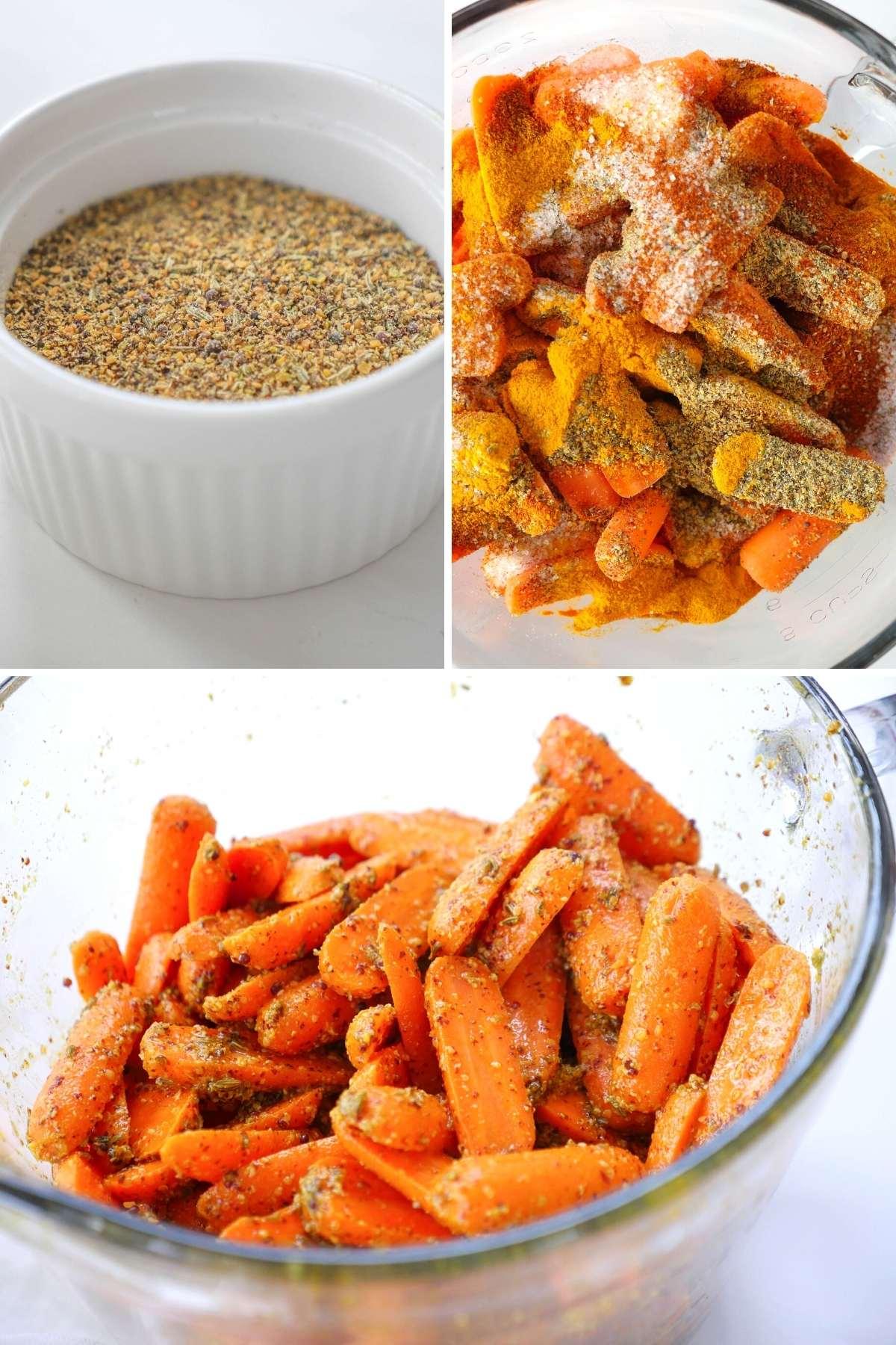 gajar achar, Indian carrot pickle
