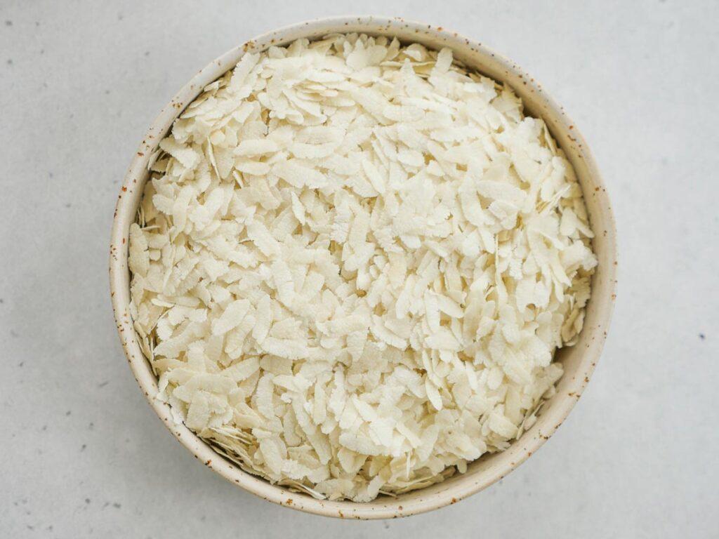 flattened rice poha