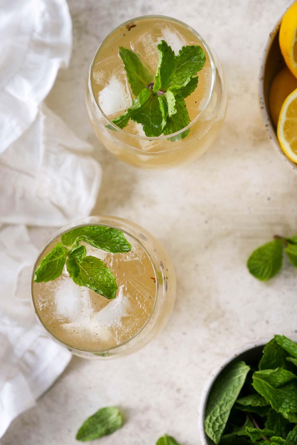 Shikanji Recipe (Indian Lemonade)